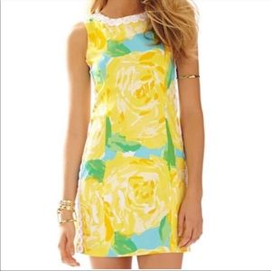 Lilly Pulitzer Mila Dress Sunglow yellow